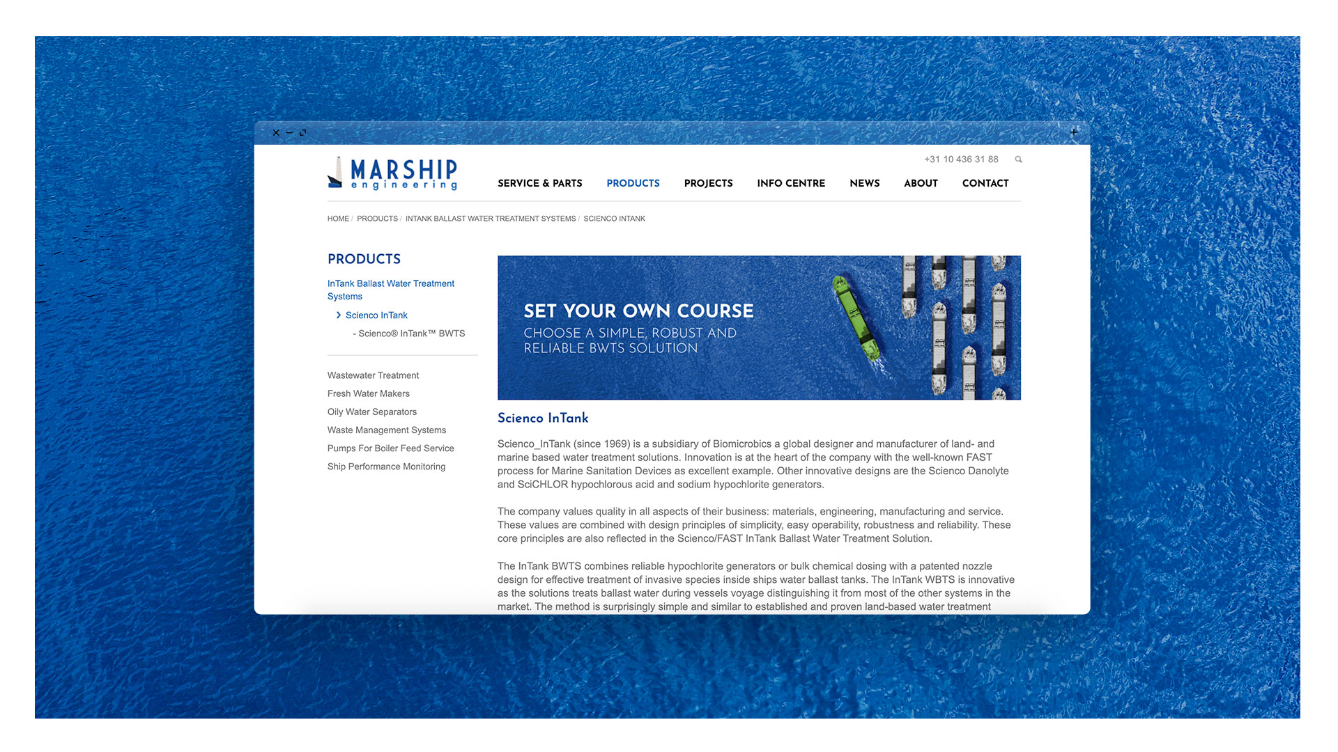 Marship x 3110 - product page
